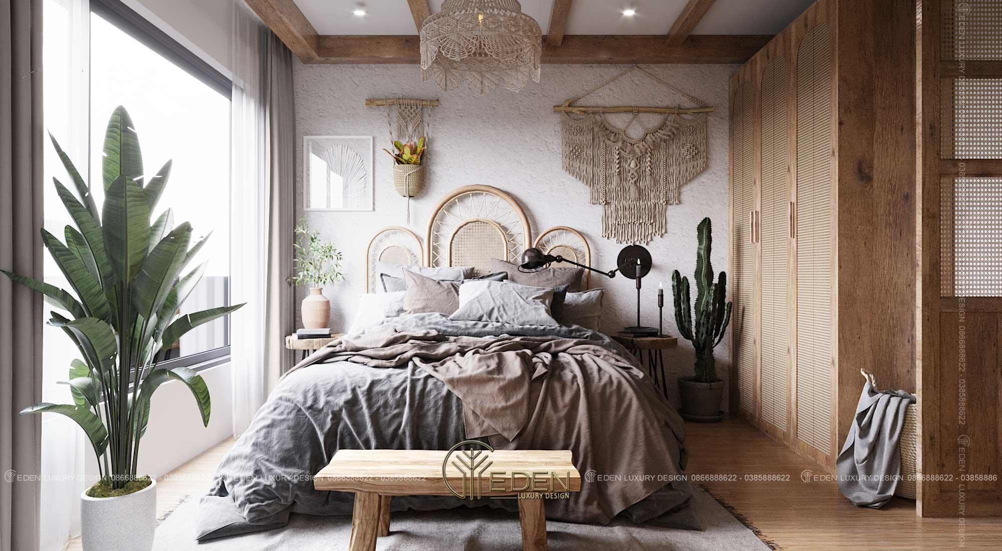 Mẫu phòng ngủ Master chung cư Vinsmart City