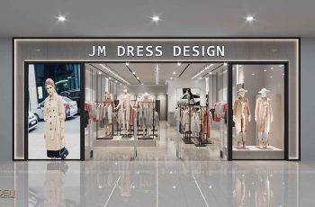 Thiết kế nội thất shop quần áo thương hiệu JM Showroom Royal City