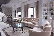 Thiết kế nội thất nhà phố 76m2-2pn