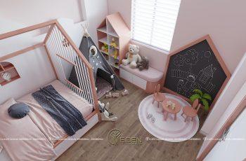 Thiết kế nội thất phòng trẻ em nhà phố a Trụ