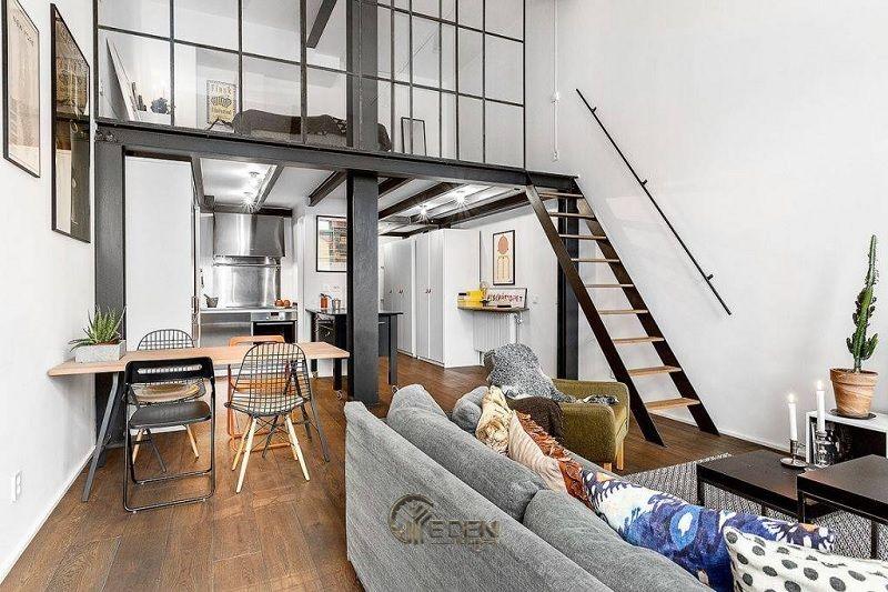 Mẫu thiết kế nhà cấp 4 hiện đại, kết hợp với chất liệu thép khiến cho căn nhà trở nên hấp dẫn và độc đáo hơn