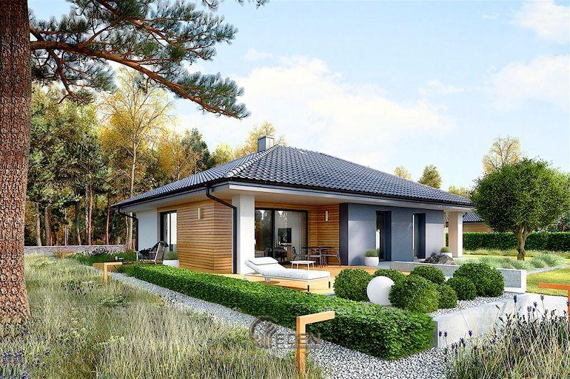 Mẫu thiết kế nhà cấp 4 với phong cách Châu Âu, biến căn nhà là chốn nghỉ ngơi hoàn hảo