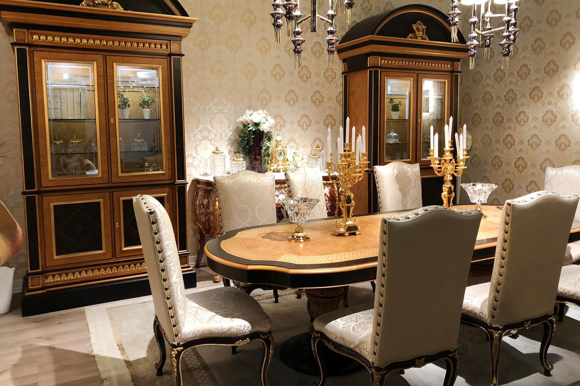 Phong cách thiết kế nội thất chung cư tân cổ điển kết hợp giữa cổ điển và hiện đại