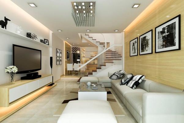 Cầu thang thông tầng tối ưu hóa không gian sinh hoạt