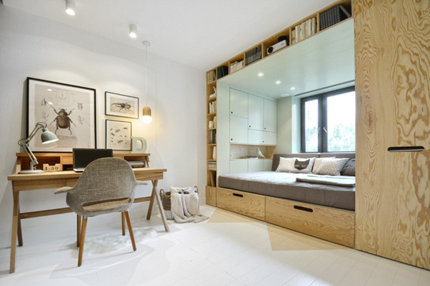 Diện tích từ nay không phải là vấn đề khi muốn thiết kế nội thất phòng ngủ đẹp
