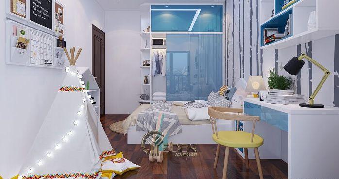Thiết kế nội thất cho phòng ngủ nhỏ 13m2 (1)
