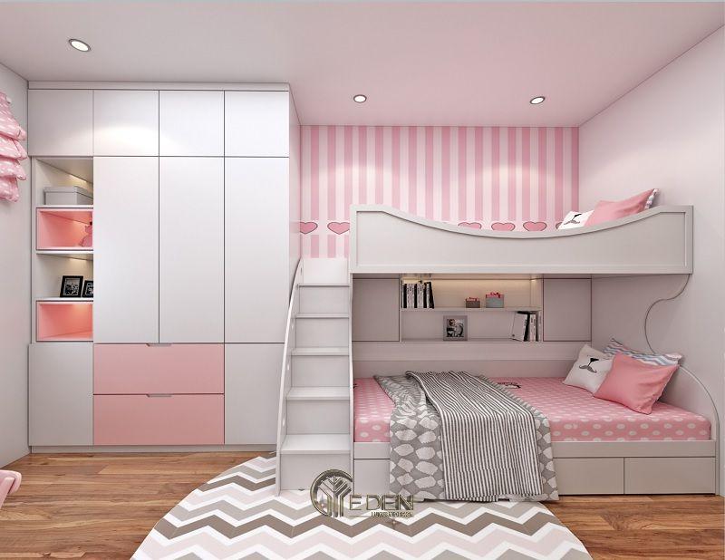 Thiết kế nội thất phòng ngủ cho bé gái (2)
