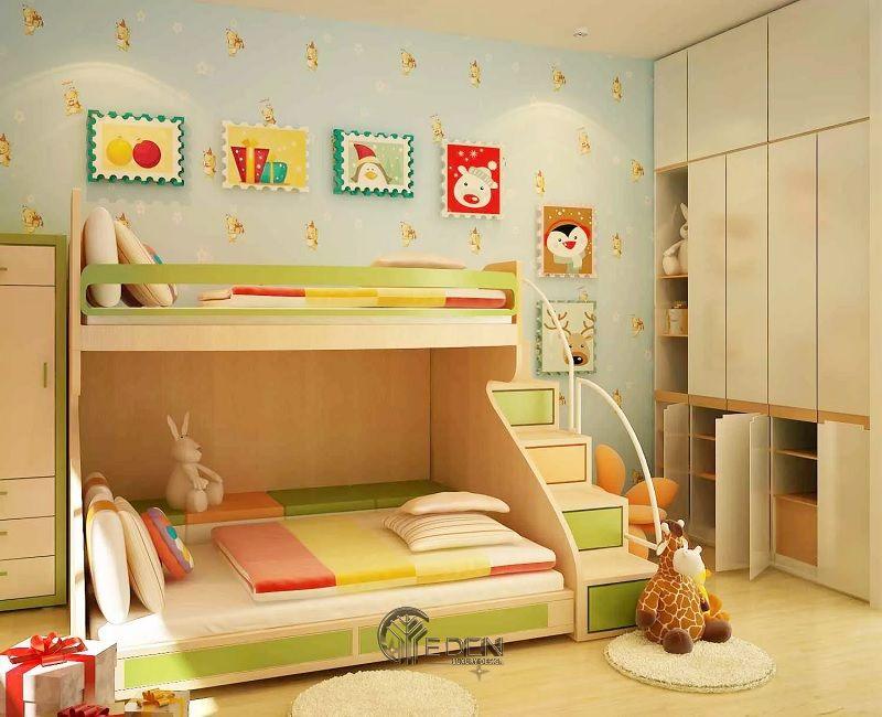 thiết kế nội thất phòng ngủ 2 giường (2)