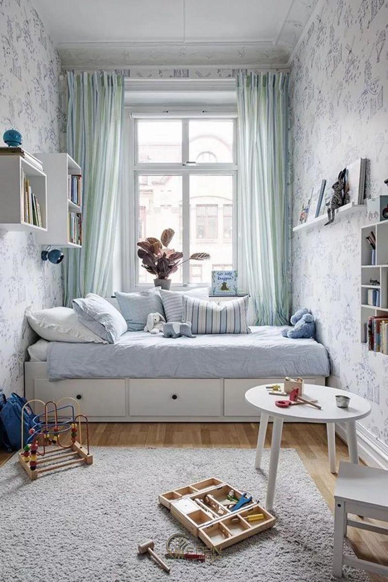 Thiết kế nội thất phòng ngủ cho bé gái 12-15 tuổi (2)