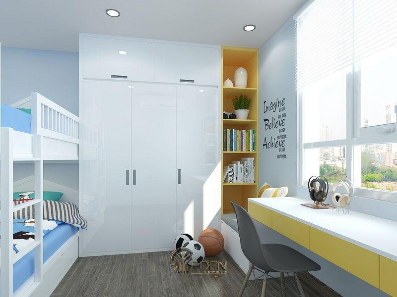 Tận dụng không gian phòng, tạo không gian riêng biệt (2)