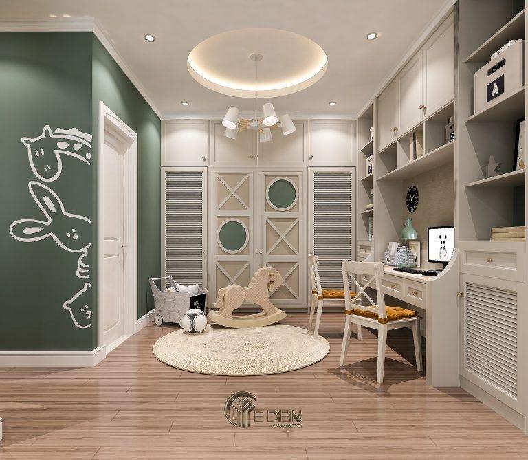 Thiết kế nội thất phòng ngủ bé trai (2)