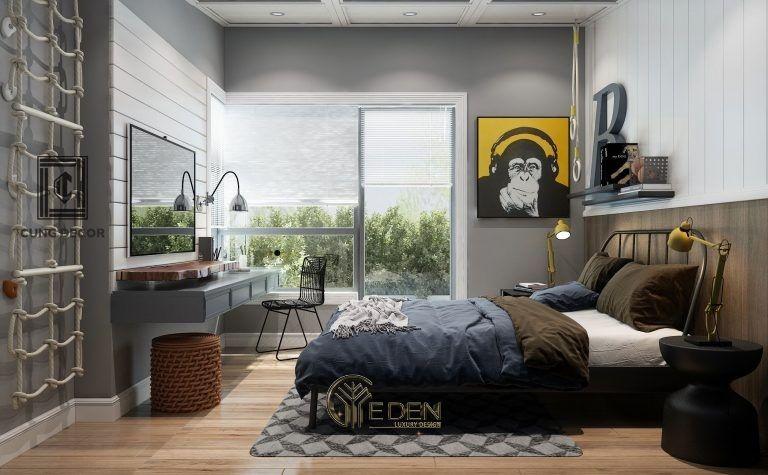 Thiết kế nội thất cho phòng ngủ nhỏ 12m2 (1)