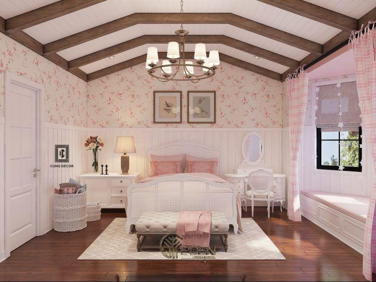 Thiết kế nội thất phòng ngủ 16m2 (1)