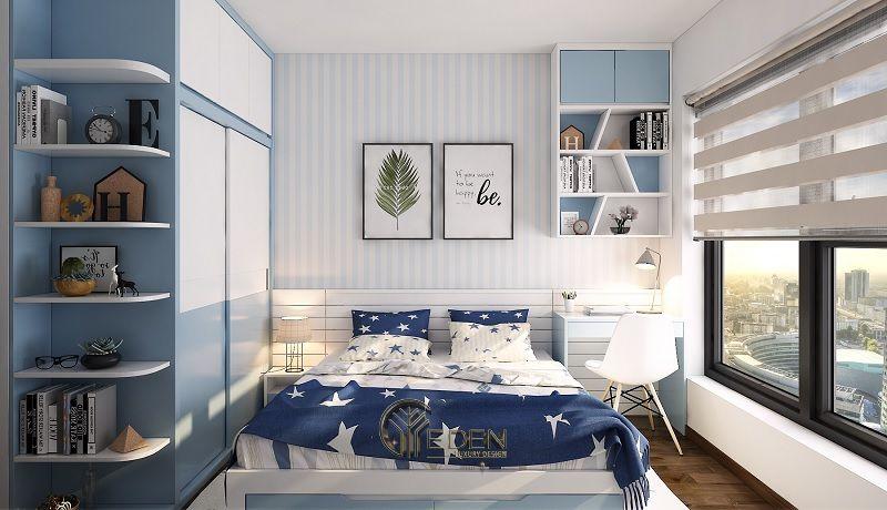 Thiết kế nội thất phòng ngủ bé trai (3)
