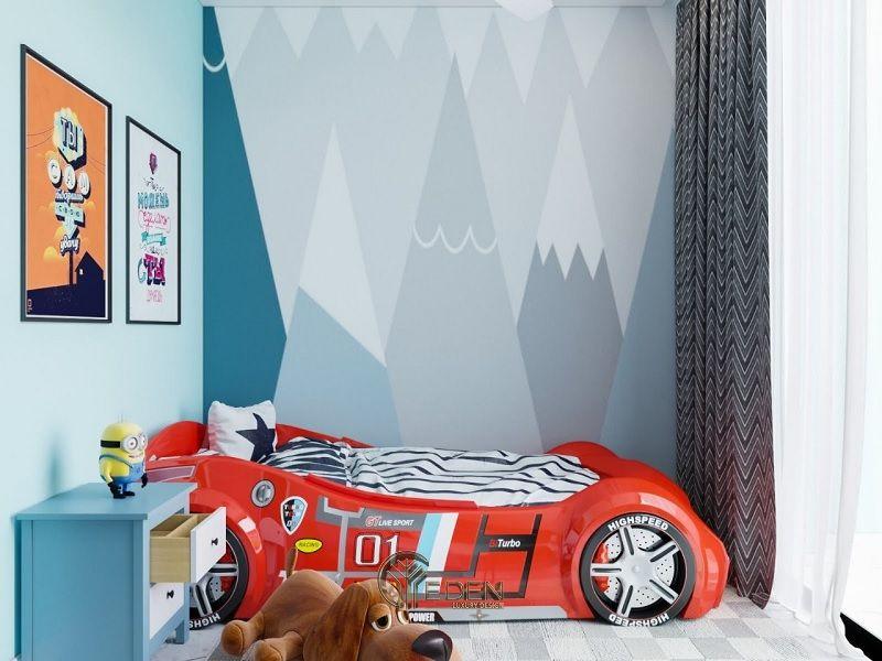 Thiết kế nội thất phòng ngủ bé trai (6)