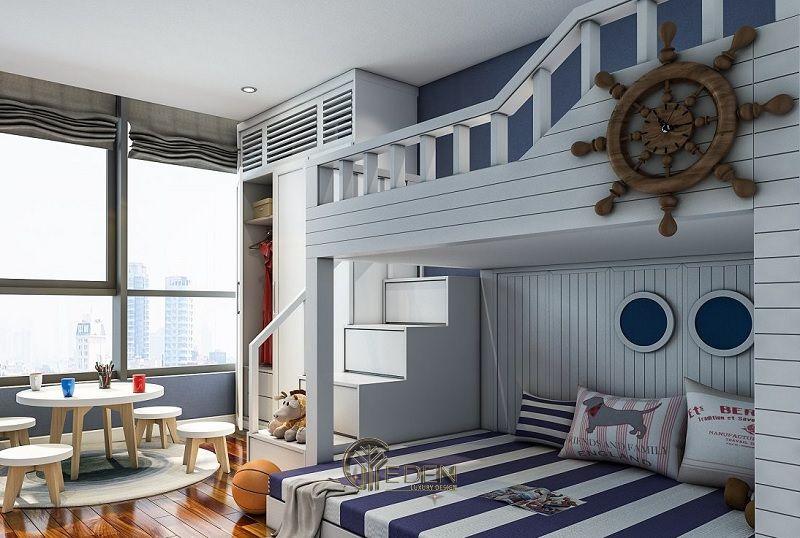 Lên ý tưởng thiết kế nội thất phòng ngủ trẻ em