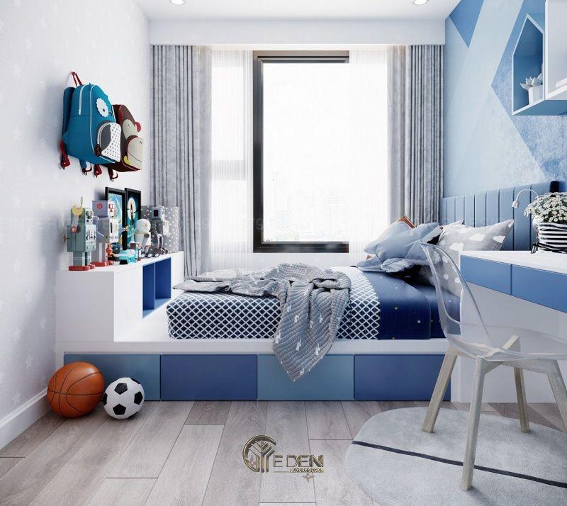 Thiết kế nội thất phòng ngủ bé trai (1)