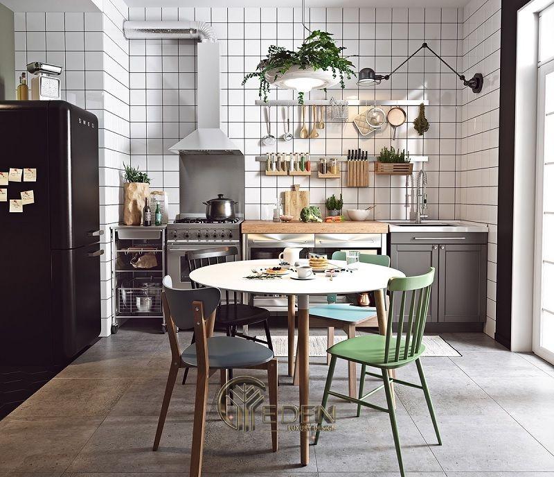 Thiết kế phòng bếp theo phong cách Vintage cổ điển