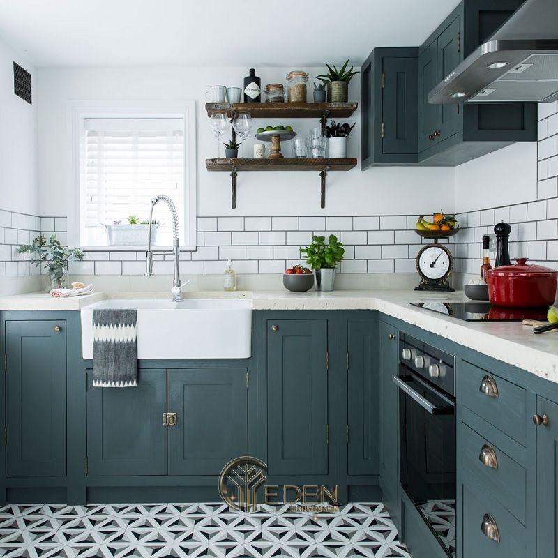 Thiết kế phòng bếp theo phong cách Vintage cổ điển (2)