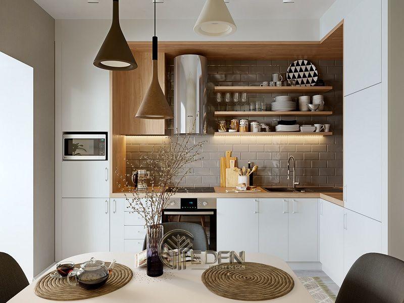 Lưu ý vị trí bếp ăn khi thiết kế bếp ăn gia đình