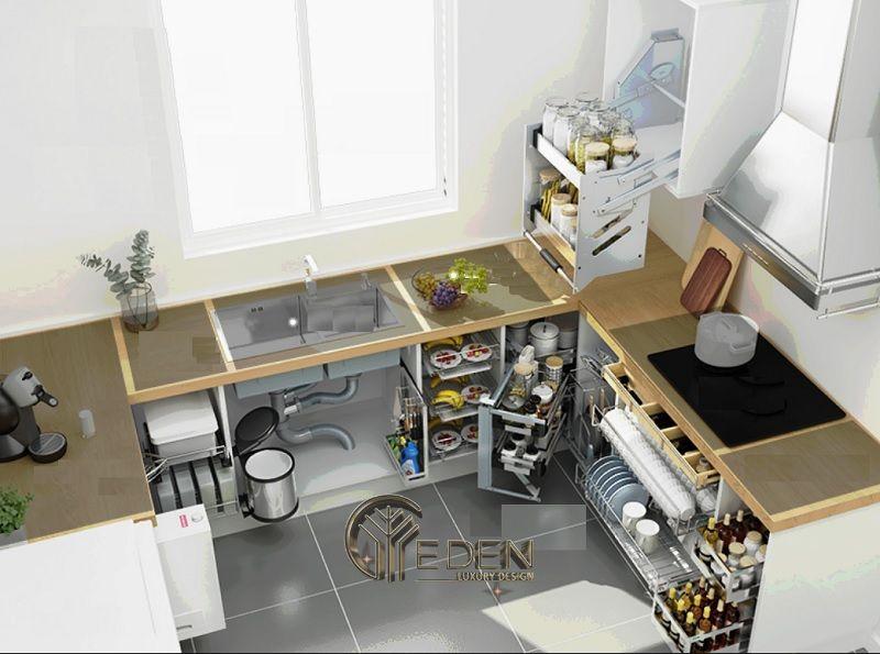 Nội thất thông minh mang lại sự tiện lợi và hiệu suất cao hơn cho căn bếp nhà bạn