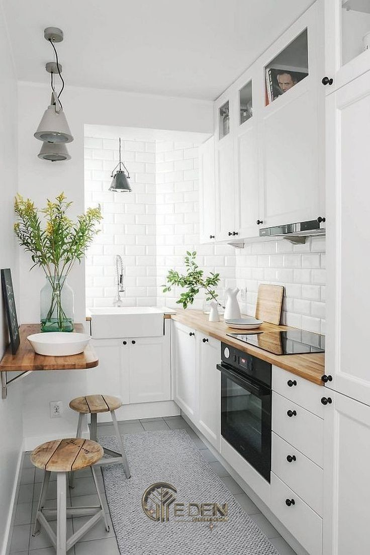 Thiết kế nội thất nhà bếp nhỏ