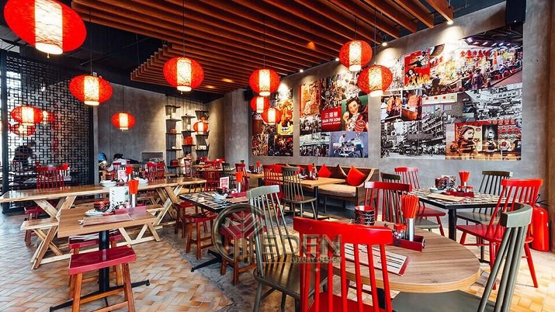 Thiết kế quán cafe với phong cách HongKong muôn màu 2