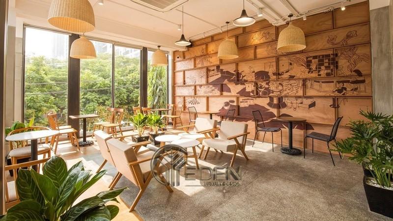 Thiết kế quán cafe phù hợp cho dân công sở