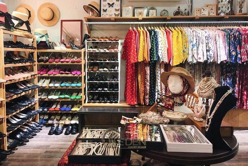 Lựa chọn chất liệu nội thất cho cửa hàng quần áo