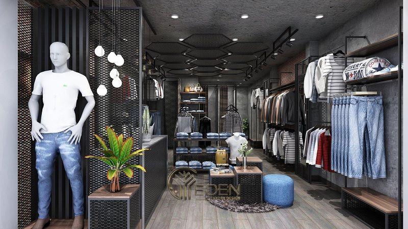 Mẫu thiết kế cửa hàng quần áo đẹp - Khách hàng nam phong cách Hiện đại 8