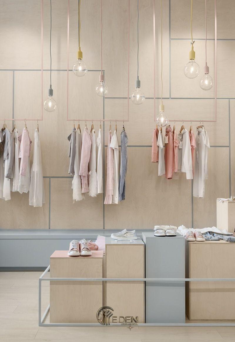 """Mẫu thiết kế cửa hàng quần áo đẹp cho """"con nít"""" 5"""
