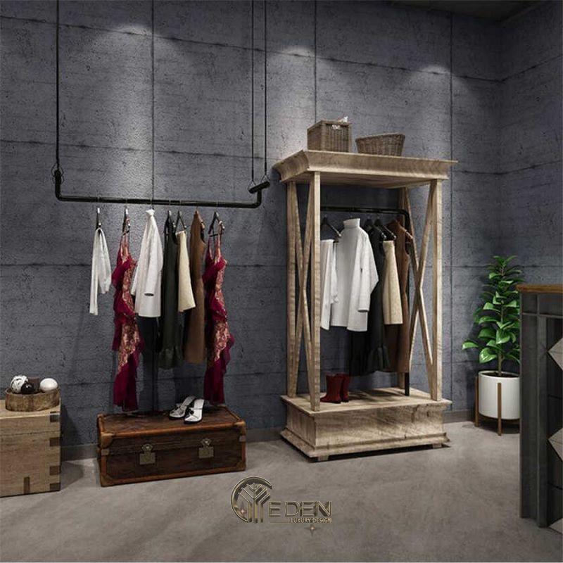 Mẫu thiết kế shop quần áo đẹp - Khách hàng nam phong cách Minimalism 4