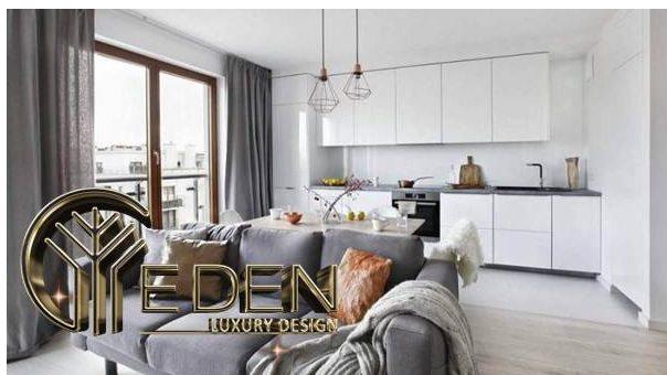 Các khu vực chức năng trong nhà được xác định và phân chia rõ ràng khi thiết kế