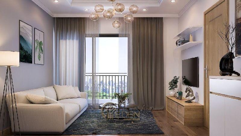 Thiết kế thi công nội thất chung cư mang phong cách hiện đại (4)
