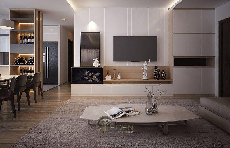 Thiết kế thi công nội thất chung cư mang phong cách Hàn Quốc - Mẫu 4