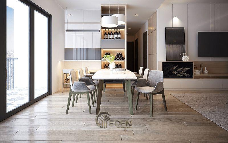 Thiết kế thi công nội thất chung cư mang phong cách Hàn Quốc - Mẫu 5