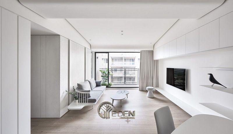 Thiết kế thi công nội thất chung cư mang phong cách Tối giản - Mẫu 1