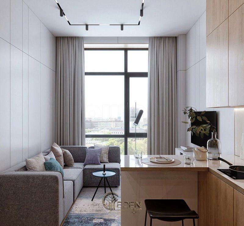 Thiết kế thi công nội thất chung cư mang phong cách Tối giản - Mẫu 2