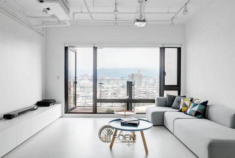 Thiết kế thi công nội thất chung cư mang phong cách Tối giản - Mẫu 4