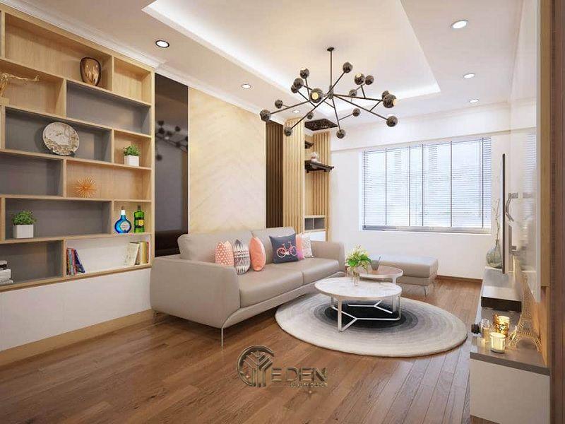 Thiết kế thi công nội thất chung cư mang phong cách Hàn Quốc - Mẫu 2
