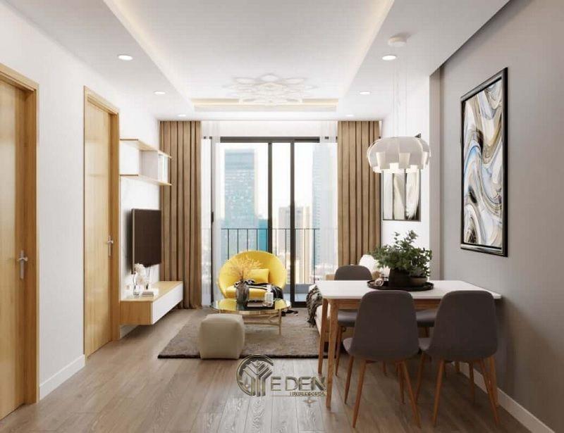 Thiết kế thi công nội thất chung cư mang phong cách Hàn Quốc - Mẫu 3