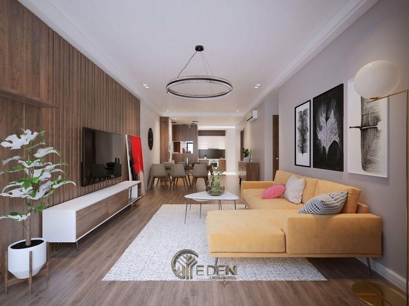 Thiết kế thi công nội thất chung cư mang phong cách hiện đại (2)