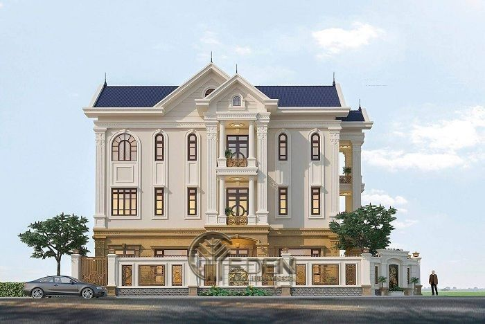 Phong cách Thiết kế biệt thự Cổ điển
