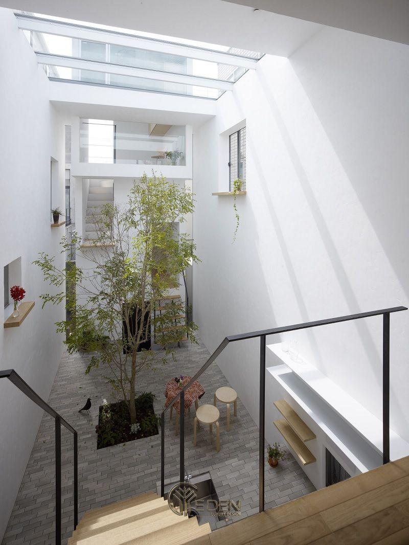 Thiết kế giếng trời hợp phong thủy ngôi nhà