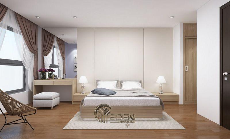 Thiết kế phòng ngủ hợp phong thủy nhà ống - Mẫu 2