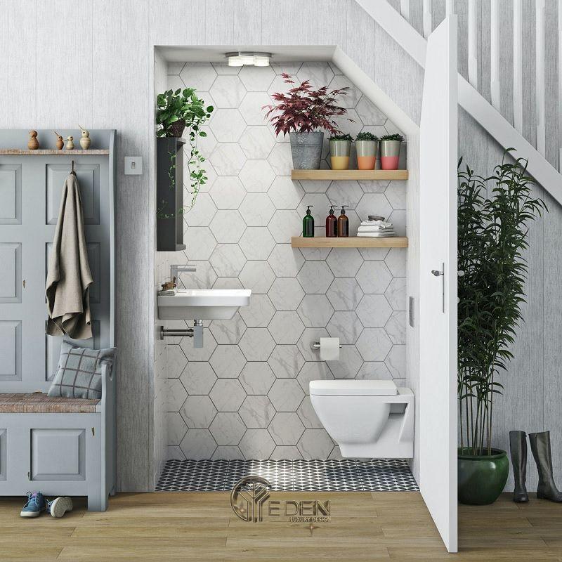 Thiết kế phòng vệ sinh phù hợp phong thủy thiết kế nhà ống đẹp