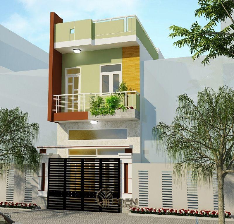 Thiết kế nhà ống 2 tầng phù hợp với những gia đình nhỏ ấm áp - Mẫu 4