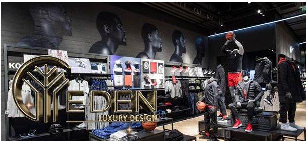 Thiết kế cửa hàng quần áo thể thao
