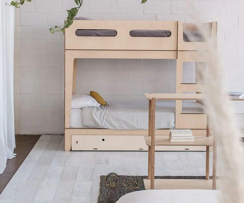 Giường thông minh chất liệu gỗ công nghiệp (3)