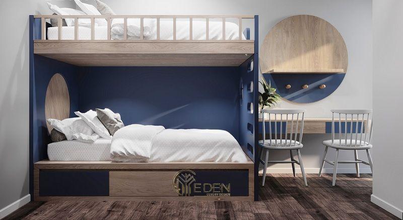 Mẫu giường ngủ cho các bé trai. Kiểu dáng giúp cho gia đình có thể sử dụng trong thời gian dài